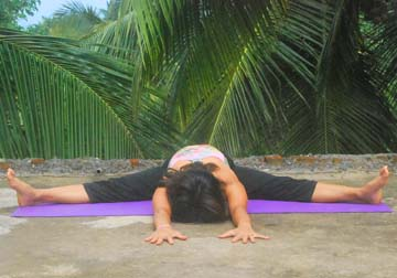 Bhumi Sparshana Asana (Earthly)