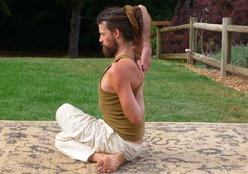 Gomukha Asana (Cow-like)